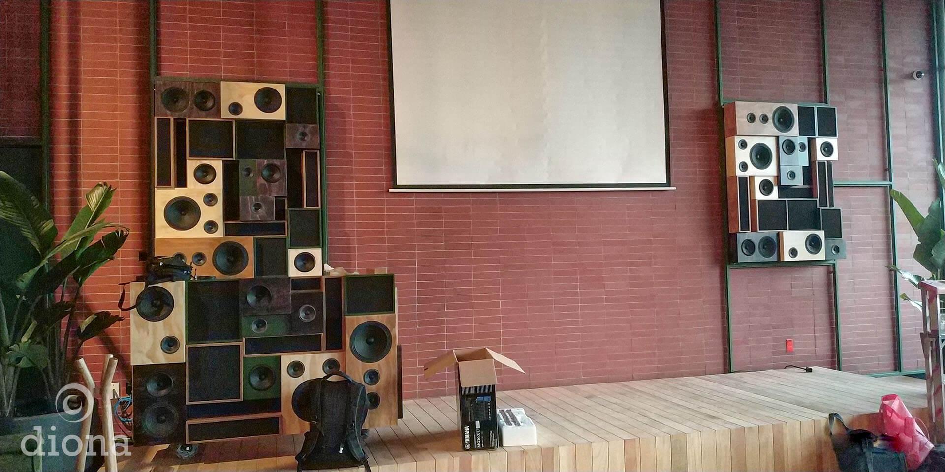 diseño industrial, mobiliario - Cocina Abierta, Artz Pedregal, djbooth, fabricación diona