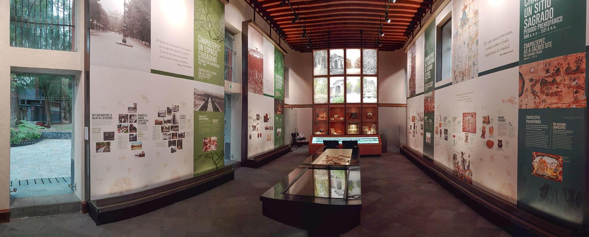 diseño industrial, mobiliario - Museo de Sitio y Centro de Visitantes del Bosque de Chapultepec, fabricación, mobiliario museográfico, diona