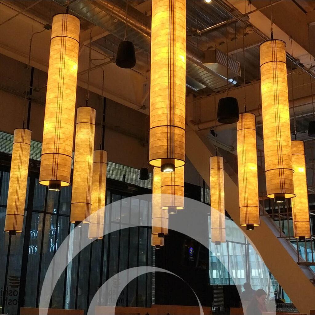 diseño industrial, mobiliario - Cocina Abierta Artz Pedregal, luminaria diona