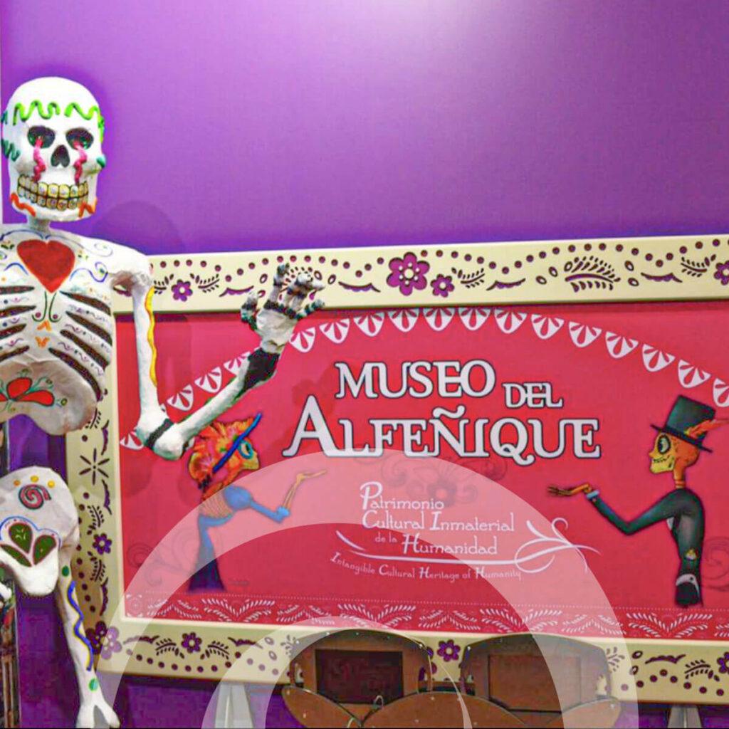 diseño industrial, mobiliario - Museo del Alfeñique, Toluca, diona
