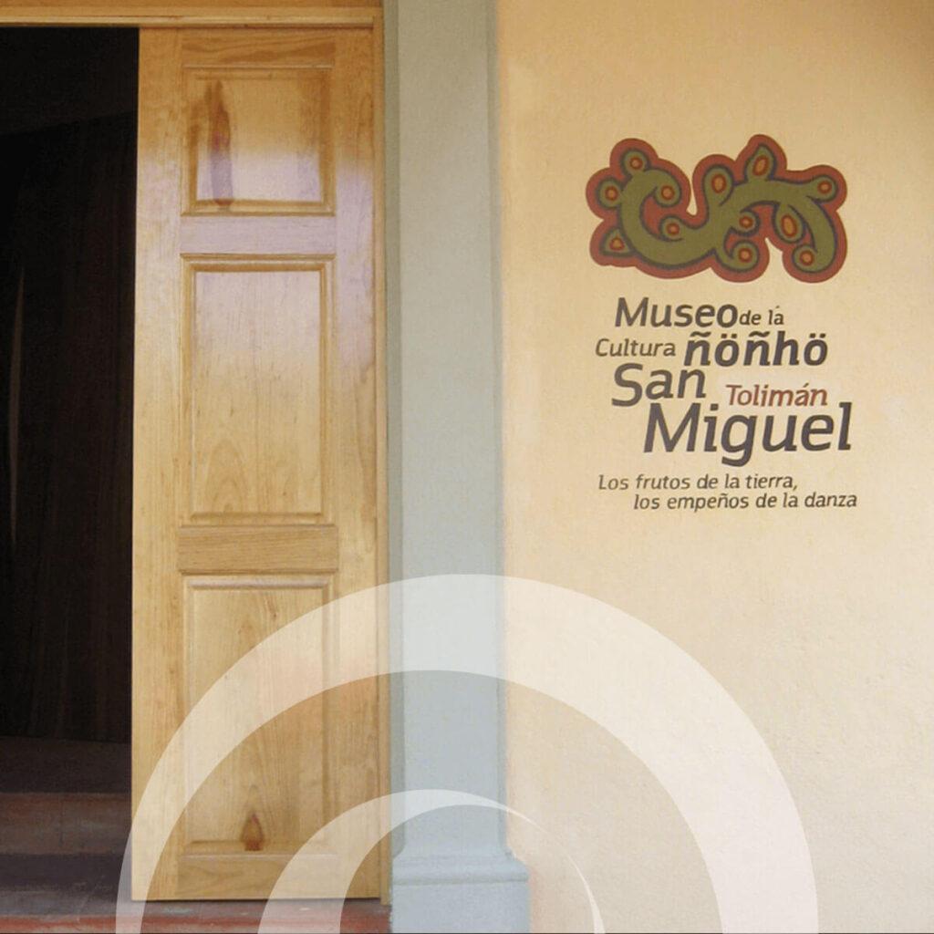 diseño industrial, mobiliario - Museo de la cultura ñoñho San Miguel Tolimán Querétaro diona