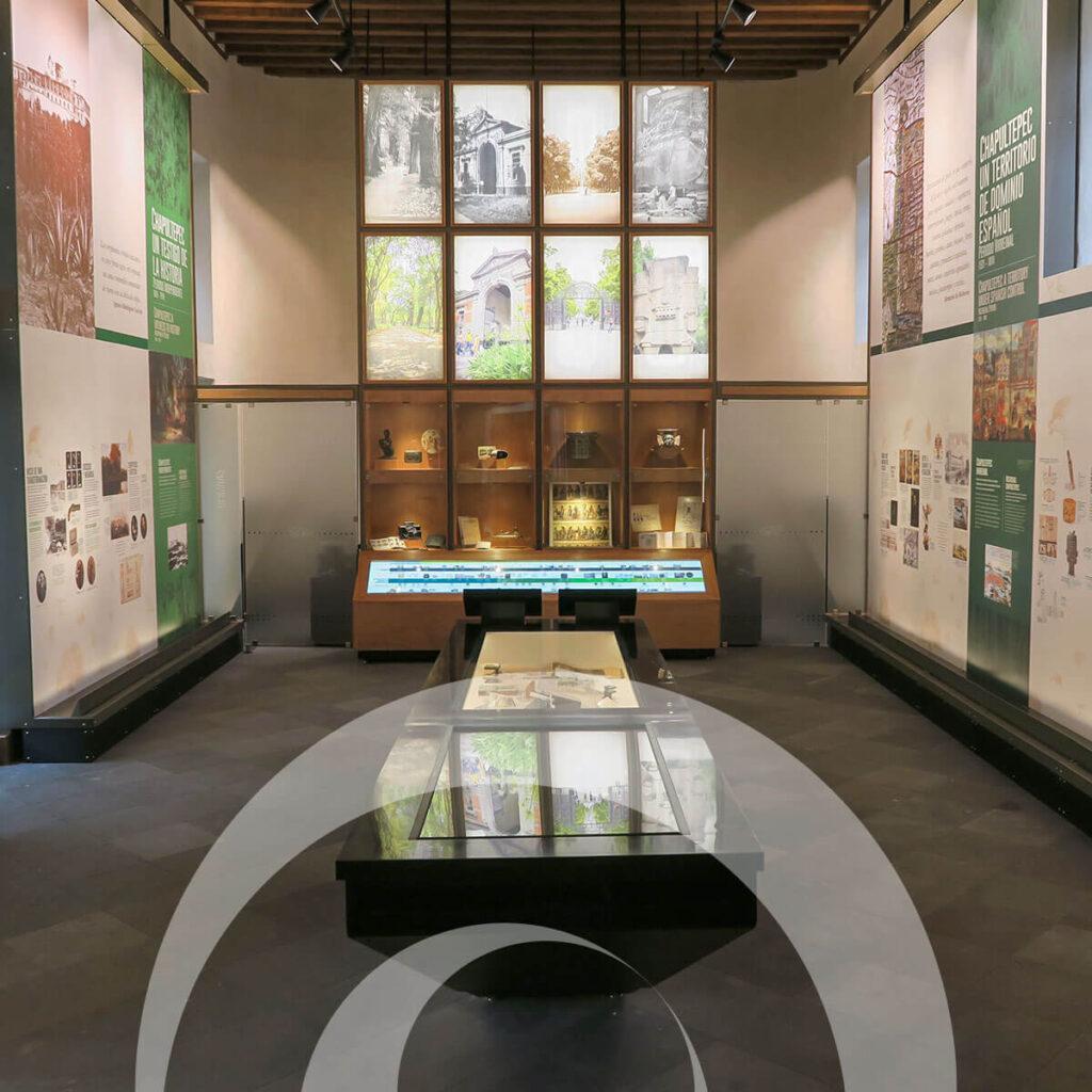 diseño industrial, mobiliario - Museo de Sitio y Centro de Visitantes del Bosque de Chapultepec diona