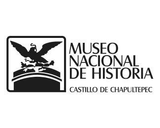 logotipo Museo Nacional de Historia, Castillo de Chapultepec, diona