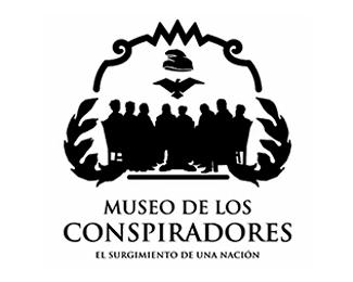 logotipo Museo de los Conspiradores, Querétaro, diona