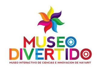 logotipo Museo Divertido, Museo Interactivo de Ciencias e Innovación de Nayarit, diona