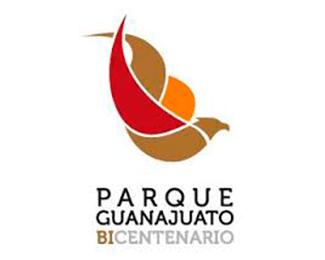 logotipo, parque guanajuato bicentenario