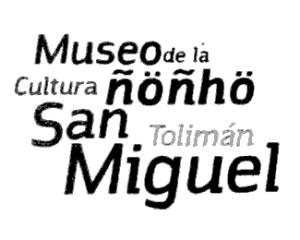 logotipo Museo de la Cultura Ñöñho. San Miguel Tolimán, Querétaro, diona
