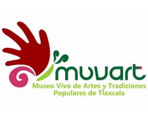 logotipo Museo Vivo de Artes y Tradiciones Populares de Tlaxcala
